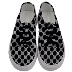 Circles2 Black Marble & Gray Metal 2 (r) Men s Classic Low Top Sneakers