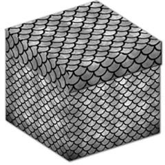 Scales1 Black Marble & Gray Metal 2 (r) Storage Stool 12