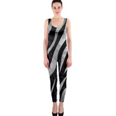 Skin3 Black Marble & Gray Metal 2 Onepiece Catsuit