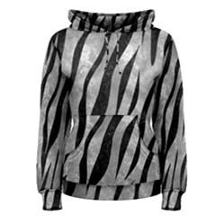 Skin3 Black Marble & Gray Metal 2 (r) Women s Pullover Hoodie