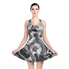 Creepy Halloween Reversible Skater Dress