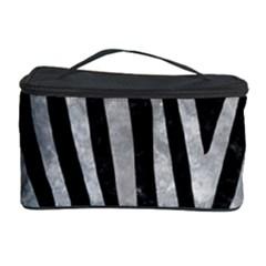 Skin4 Black Marble & Gray Metal 2 (r) Cosmetic Storage Case