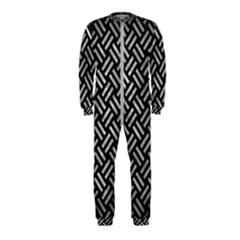 Woven2 Black Marble & Gray Metal 2 Onepiece Jumpsuit (kids)