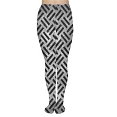 Woven2 Black Marble & Gray Metal 2 (r) Women s Tights