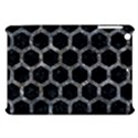 HEXAGON2 BLACK MARBLE & GRAY STONE Apple iPad Mini Hardshell Case View1