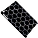 HEXAGON2 BLACK MARBLE & GRAY STONE Apple iPad Mini Hardshell Case View5