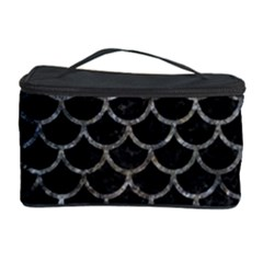 Scales1 Black Marble & Gray Stone Cosmetic Storage Case