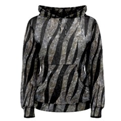 Skin3 Black Marble & Gray Stone (r) Women s Pullover Hoodie
