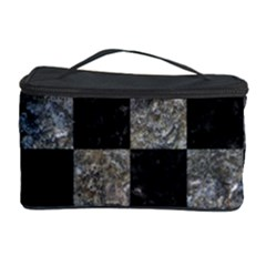 Square1 Black Marble & Gray Stone Cosmetic Storage Case