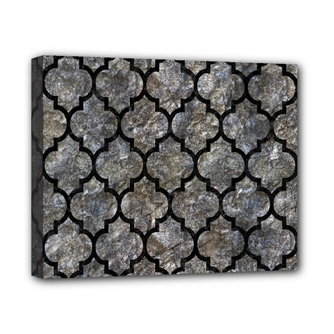 Tile1 Black Marble & Gray Stone (r) Canvas 10  X 8