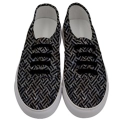 Woven2 Black Marble & Gray Stone (r) Men s Classic Low Top Sneakers