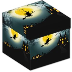 Halloween Landscape Storage Stool 12