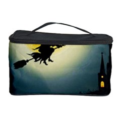 Halloween Landscape Cosmetic Storage Case