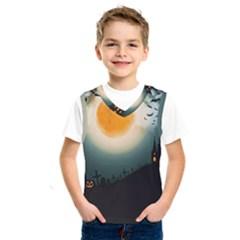 Halloween Landscape Kids  Sportswear