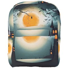 Halloween Landscape Full Print Backpack