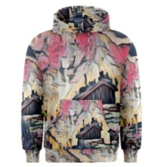 Modern Abstract Painting Men s Pullover Hoodie
