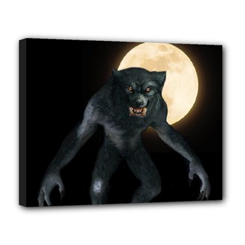 Werewolf Canvas 14  X 11