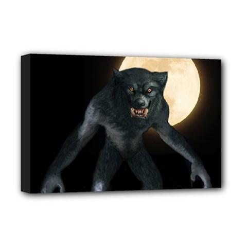 Werewolf Deluxe Canvas 18  X 12