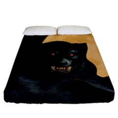 Werewolf Fitted Sheet (california King Size)