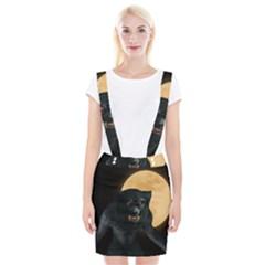 Werewolf Braces Suspender Skirt