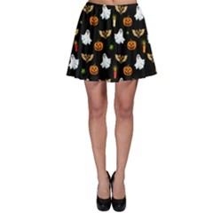 Halloween Pattern Skater Skirt