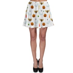Halloween Pattern Skater Skirt