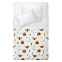Halloween Pattern Duvet Cover (single Size)