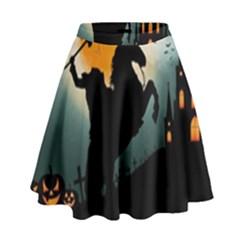 Headless Horseman High Waist Skirt