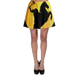Headless Horseman Skater Skirt