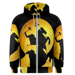 Headless Horseman Men s Zipper Hoodie
