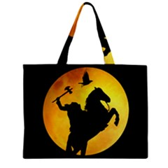 Headless Horseman Zipper Mini Tote Bag