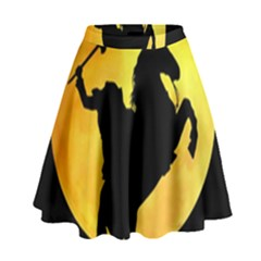 Headless Horseman High Waist Skirt