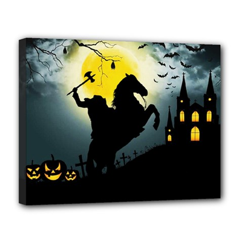 Headless Horseman Canvas 14  X 11