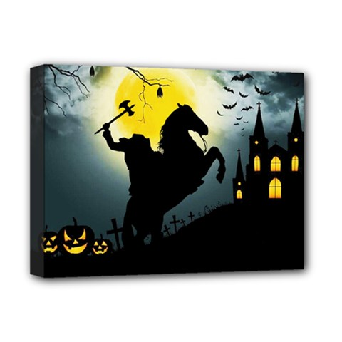 Headless Horseman Deluxe Canvas 16  X 12