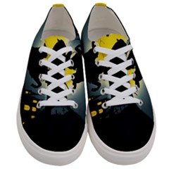 Headless Horseman Women s Low Top Canvas Sneakers