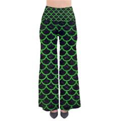 Scales1 Black Marble & Green Brushed Metal Pants