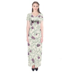 Figdesign Short Sleeve Maxi Dress