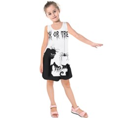 Halloween Kids  Sleeveless Dress