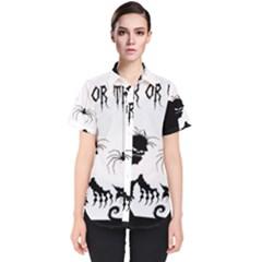 Halloween Women s Short Sleeve Shirt
