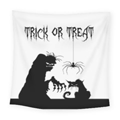 Halloween Square Tapestry (large)