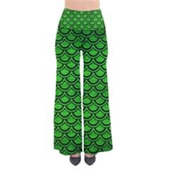 Scales2 Black Marble & Green Brushed Metal (r) Pants
