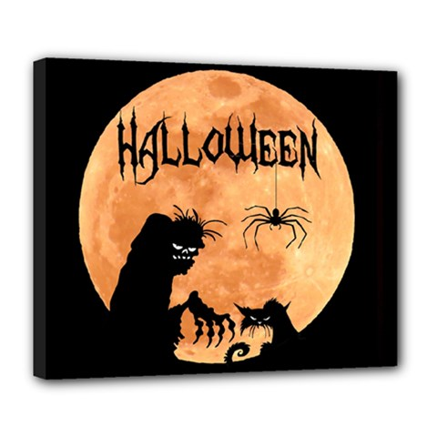 Halloween Deluxe Canvas 24  X 20