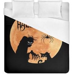 Halloween Duvet Cover (king Size)