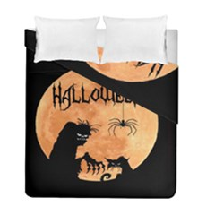 Halloween Duvet Cover Double Side (full/ Double Size)