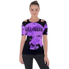 Halloween Short Sleeve Top