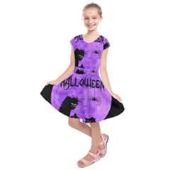 Halloween Kids  Short Sleeve Dress