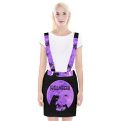 Halloween Braces Suspender Skirt