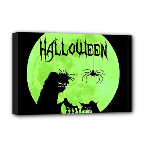 Halloween Deluxe Canvas 18  X 12
