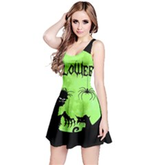 Halloween Reversible Sleeveless Dress