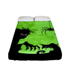 Halloween Fitted Sheet (full/ Double Size)